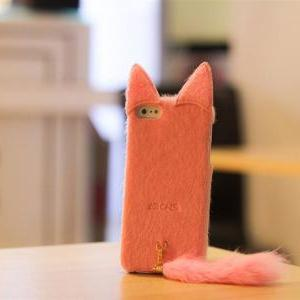 Lovely Soft Toy Cat IPhone 5 Case 3..