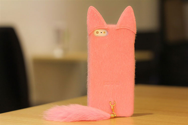 Lovely Soft Toy Cat IPhone 5 Case 3d IPhone Cover