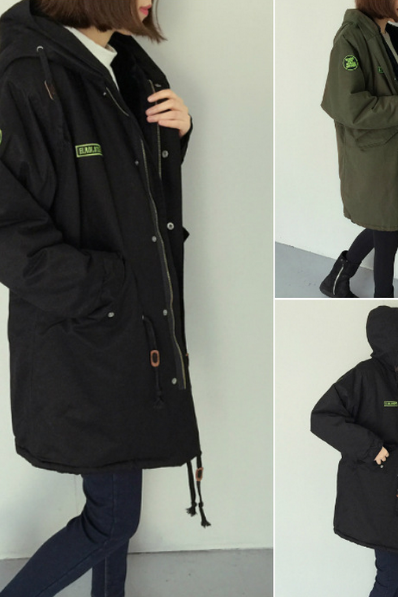 Leisure loose coat jacket