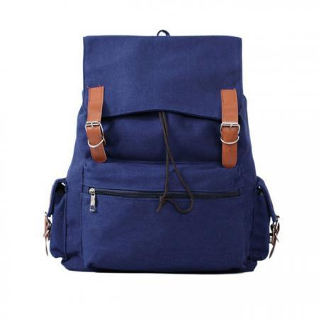SImple Large Capacity Leisure Canvas Backpack
